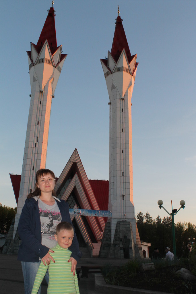 Уфа. Мечеть Ляля-Тюльпан