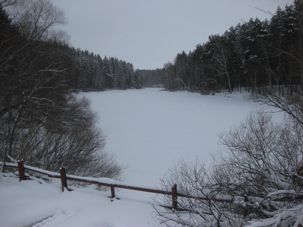 озеро на реке Пикушка