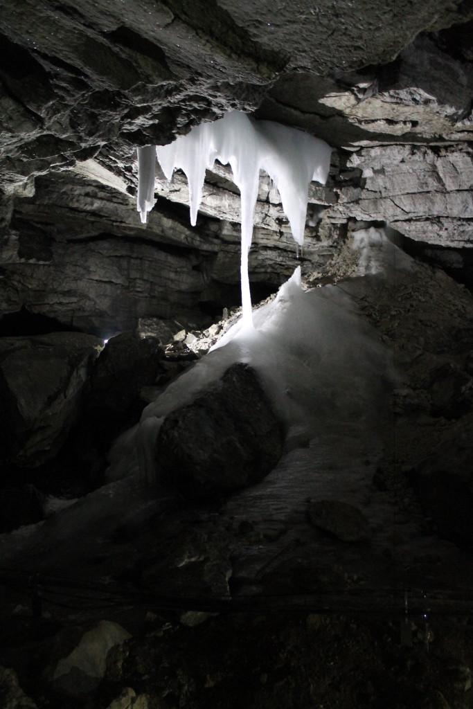 Сталагнат Кунгурская пещера