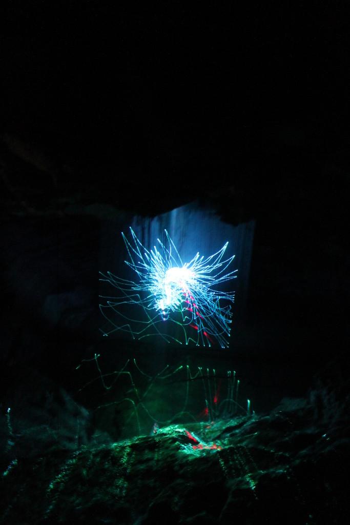 лазерное шоу Кунгурская пещера