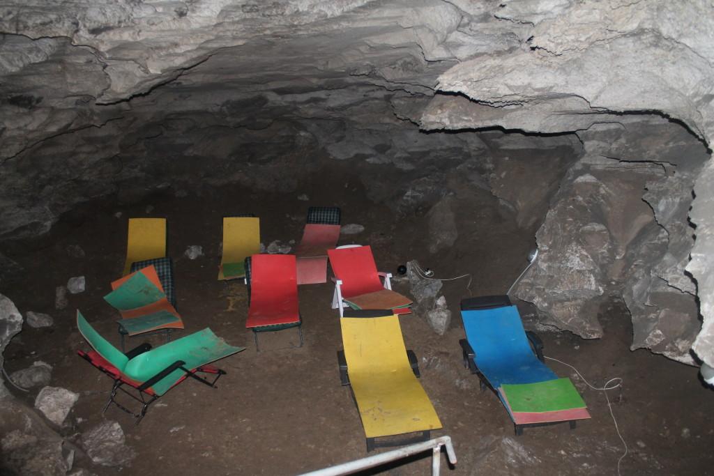 спелеокамера Кунгурская пещера