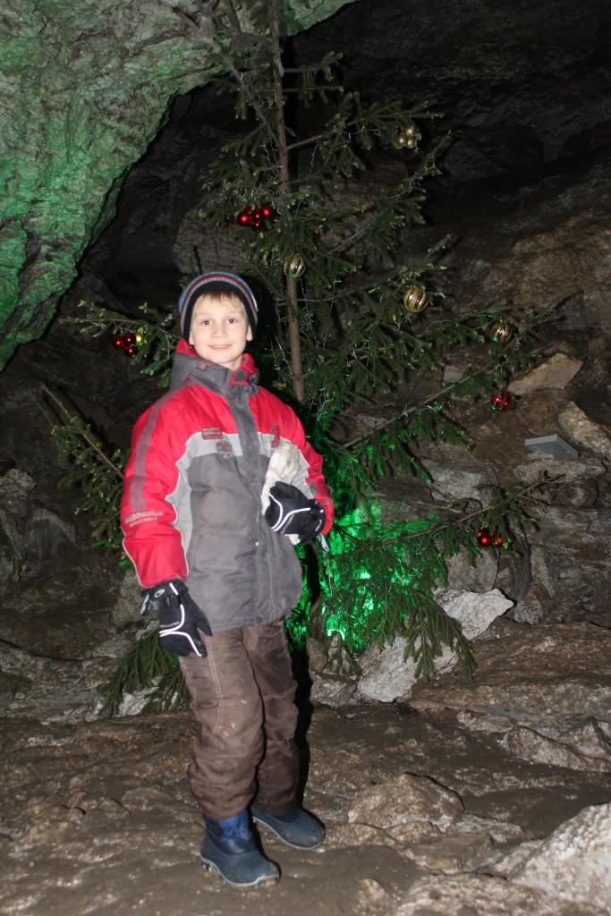 ёлка Кунгурская пещера