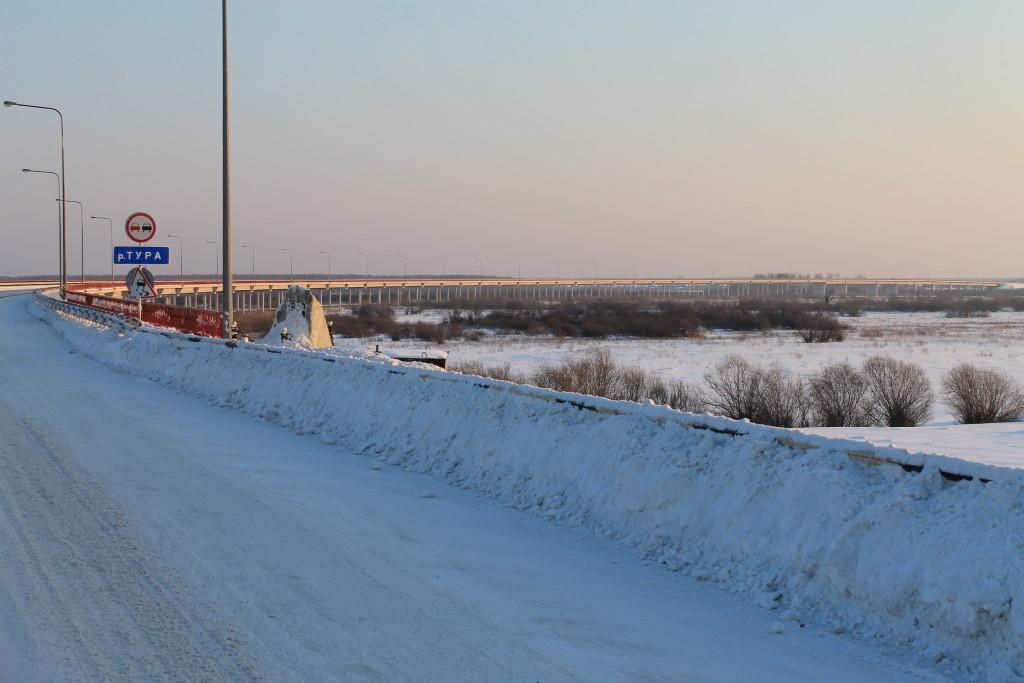 Самый длинный мост Свердловской области