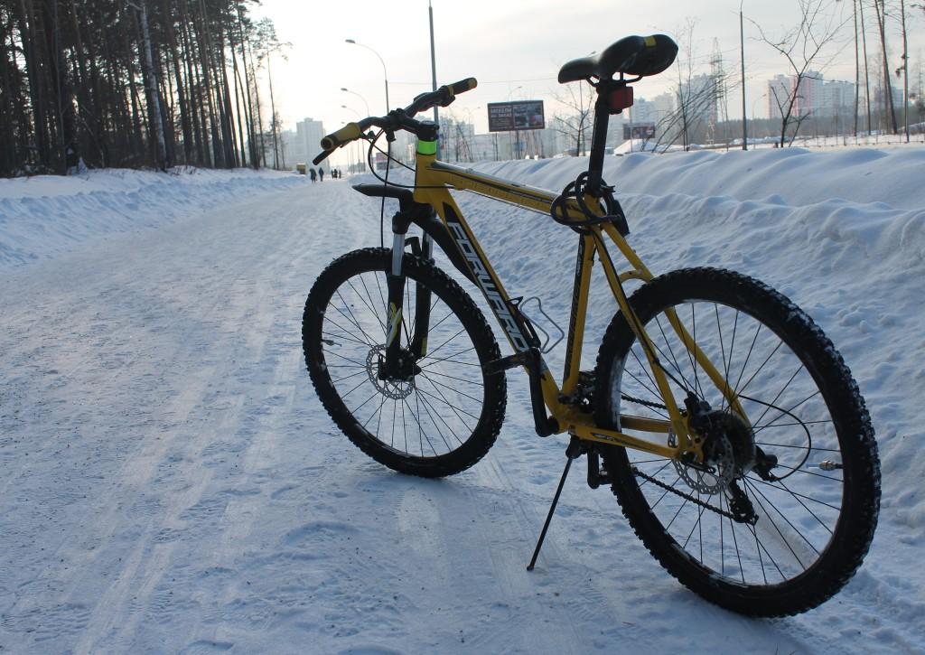 зимние велопокатушки