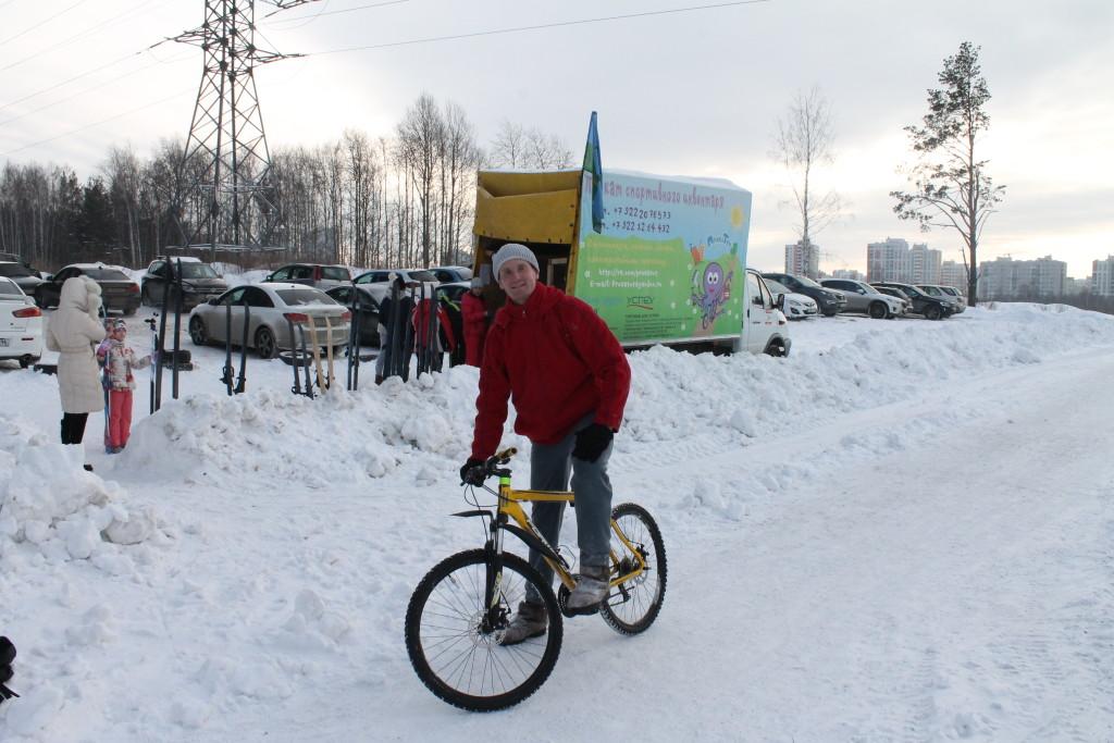 зимняя велопокатушка