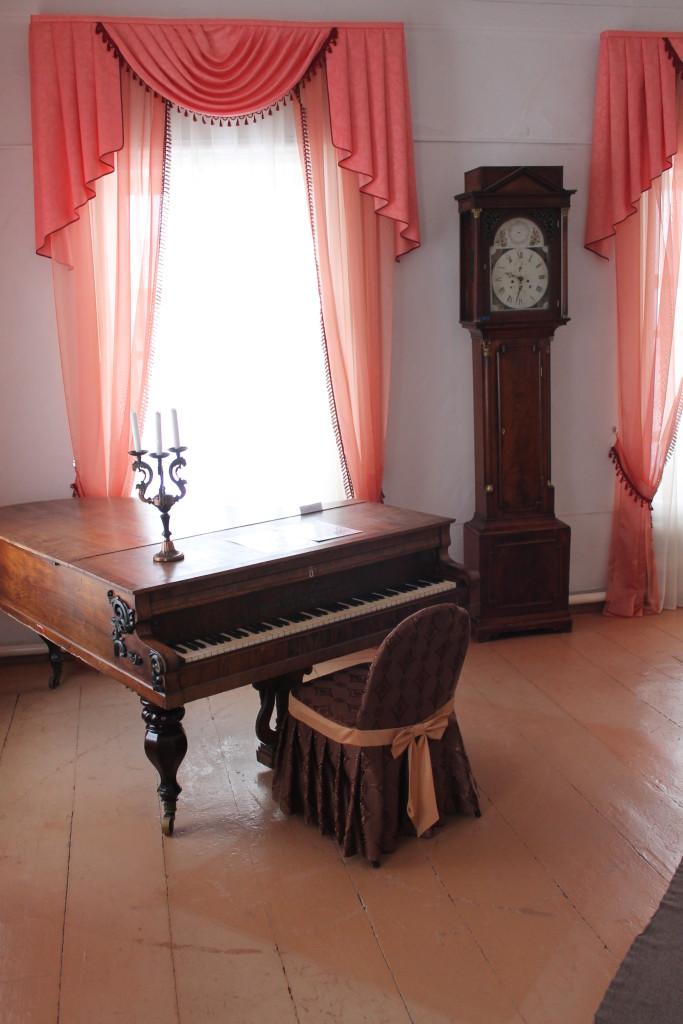 Туринск. Гостиная в доме Ивашевых (Музей декабристов)