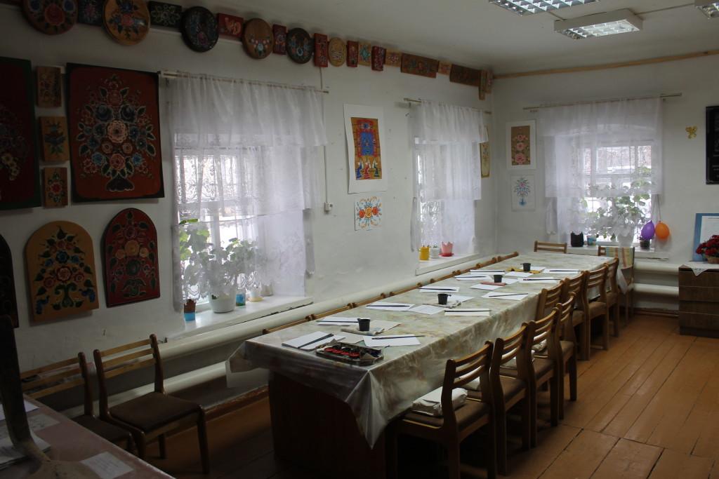 Туринск. Мастерская урало-сибирской росписи