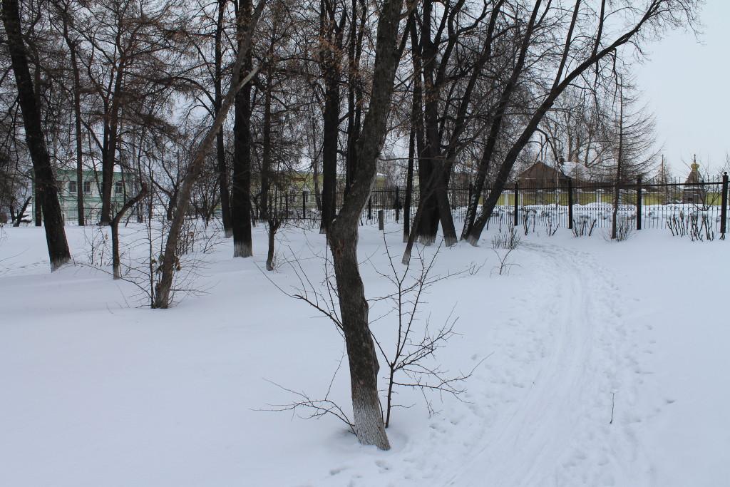 Туринск. Парк Декабристов