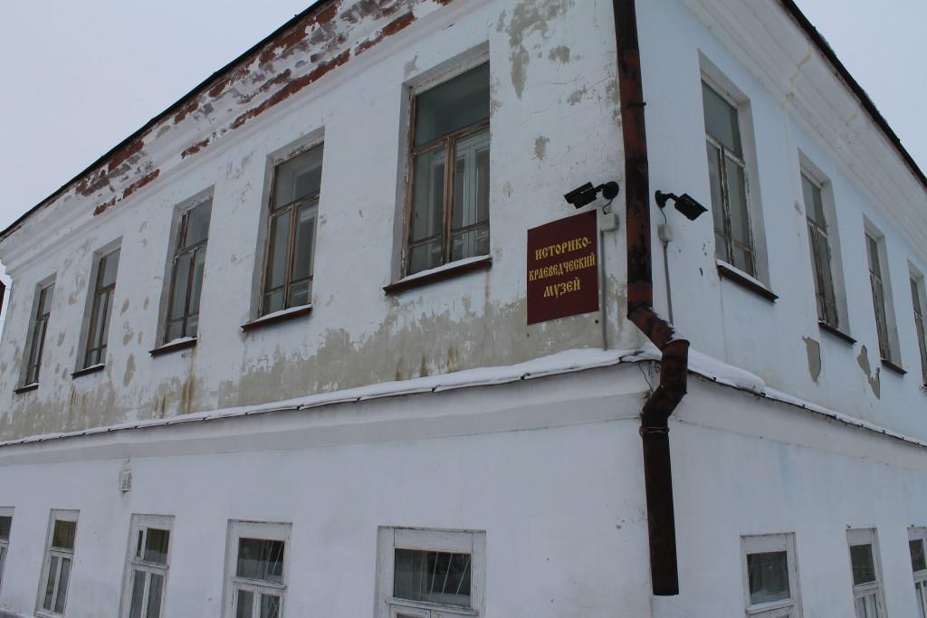 Туринск, ул. Ленина 4. Историко-краеведческий музей.