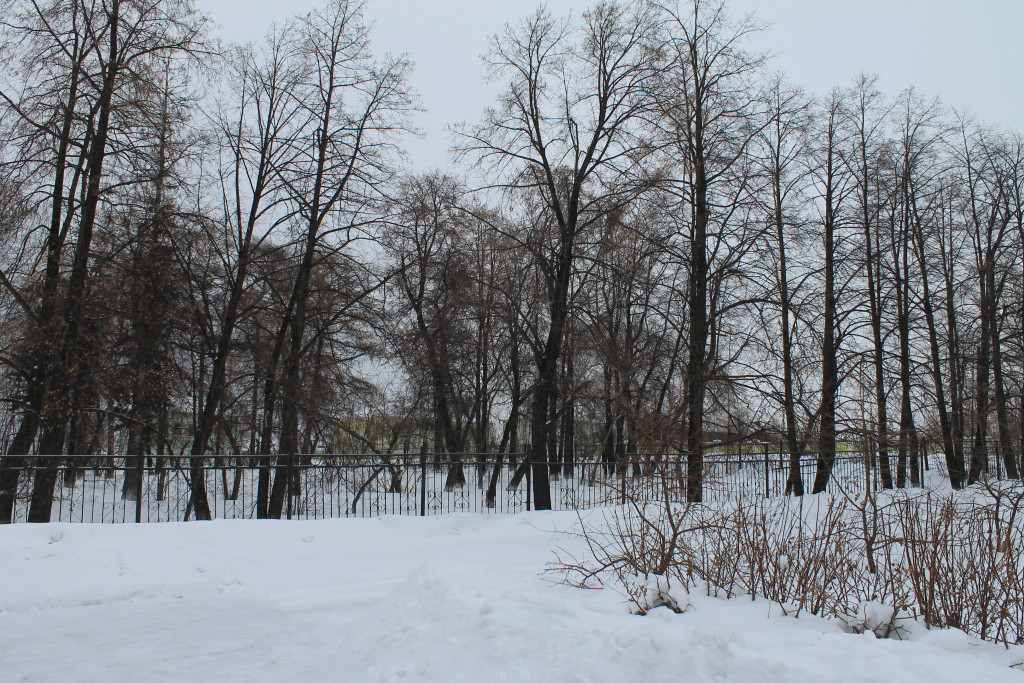 Туринск. Парк декабристов.