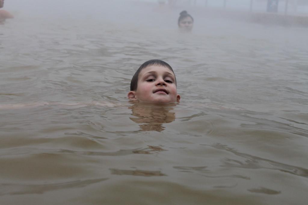 """Туринск. Термальный источник """"Акварель""""."""