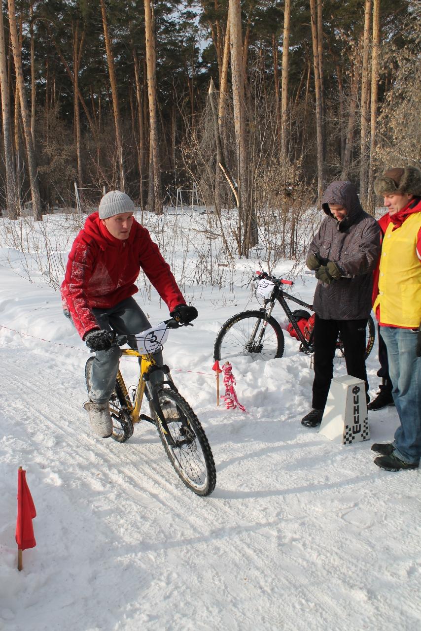 Велогонка кросс-кантри в Шадринске