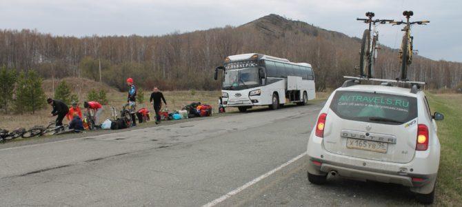 Автовелопутешествие на озеро Узинкуль с Курганским велоклубом 30.04 — 3.05.2016г.