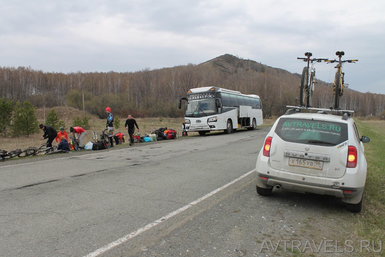 автовелопутешествие в Башкирию с Курганским велоклубом