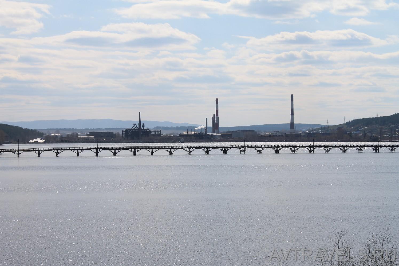 деревянный мост Белорецк