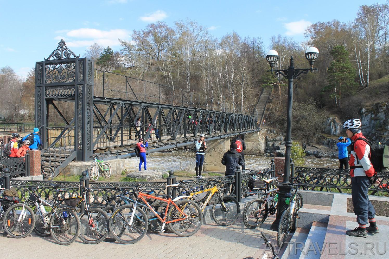 Мост через реку Белая в Белорецке