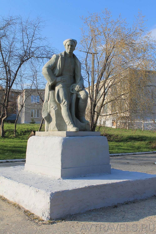 памятник А.Гайдару Белорецк