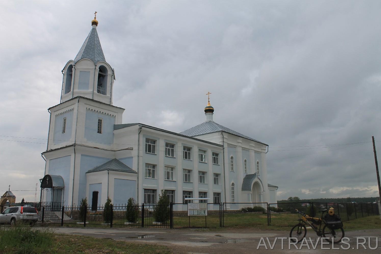 Храм во имя Святой Троицы в селе Троицкое