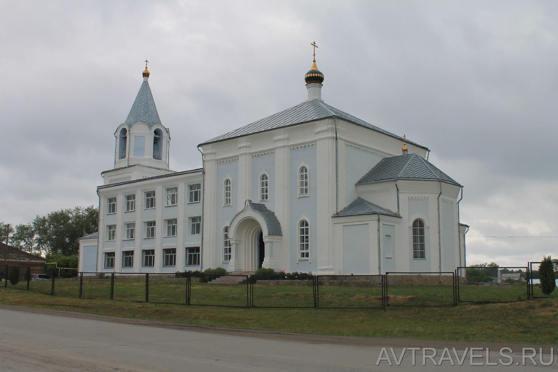Троицкий храм в селе Троицкое