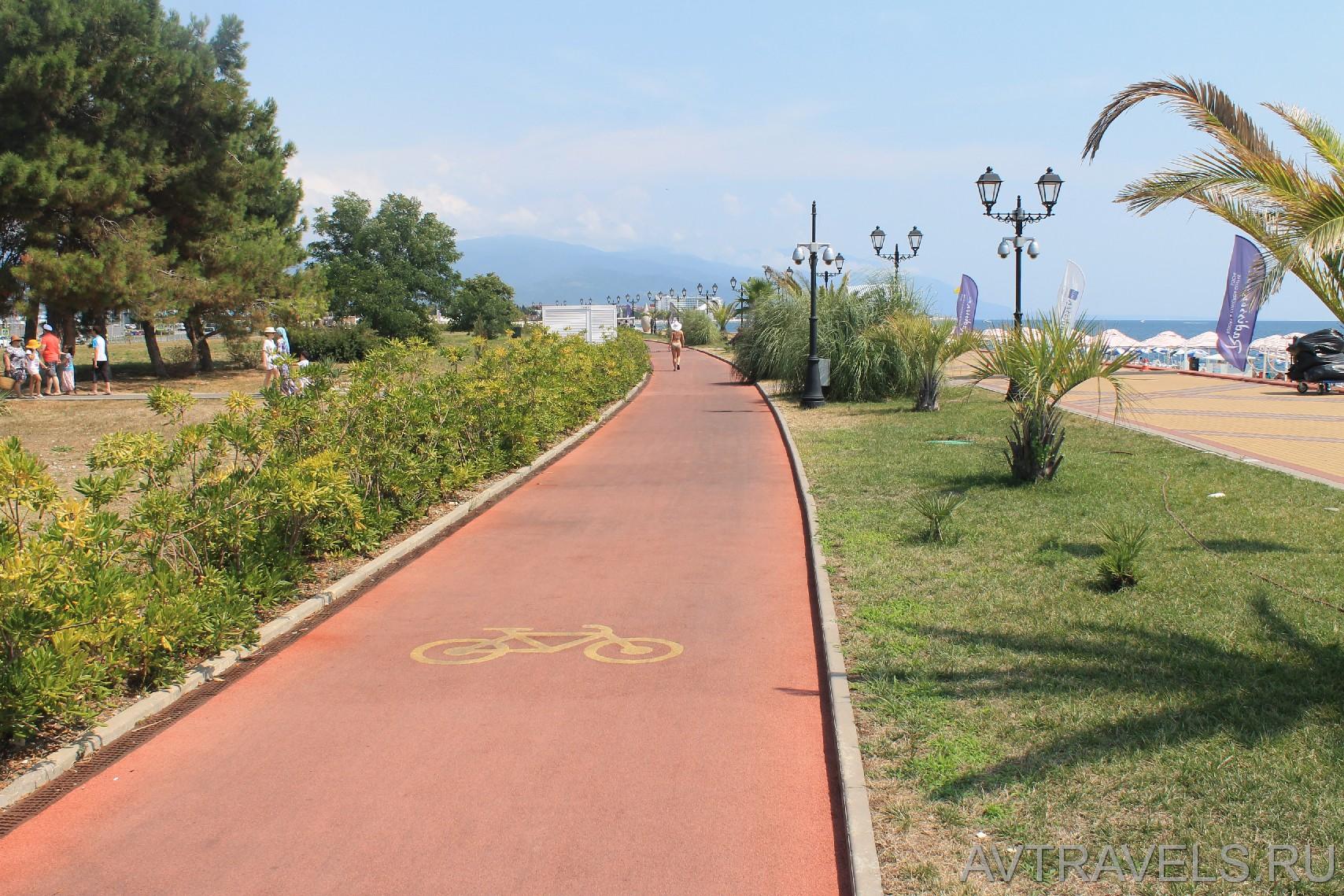 велодорожки Сочи