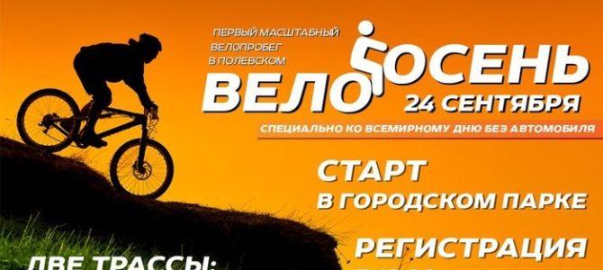 СОБЫТИЕ: Велопробег «ВЕЛООСЕНЬ» в г.Полевской 24 сентября 2016г.