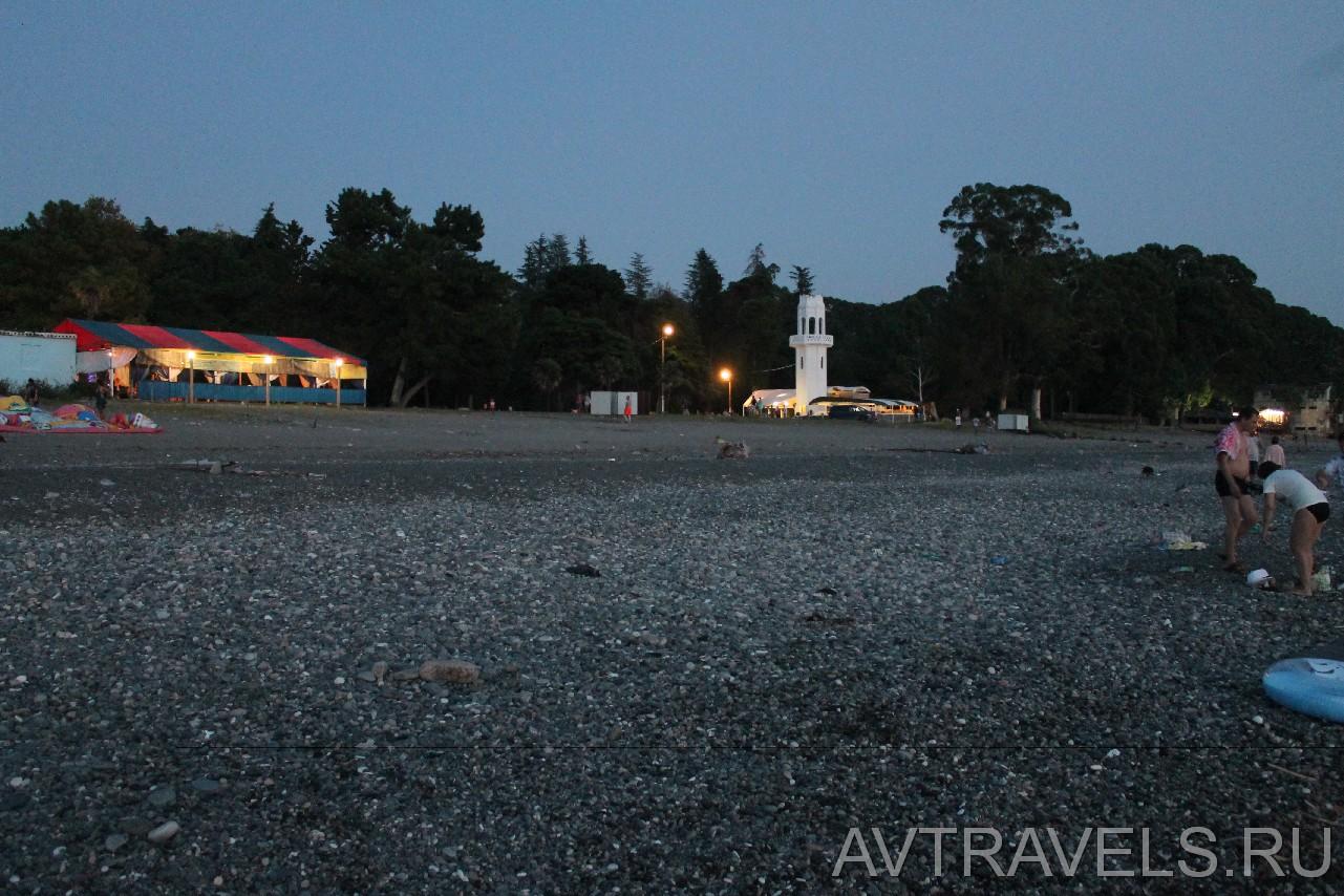 кемпинг-парк в пос.Агудзера