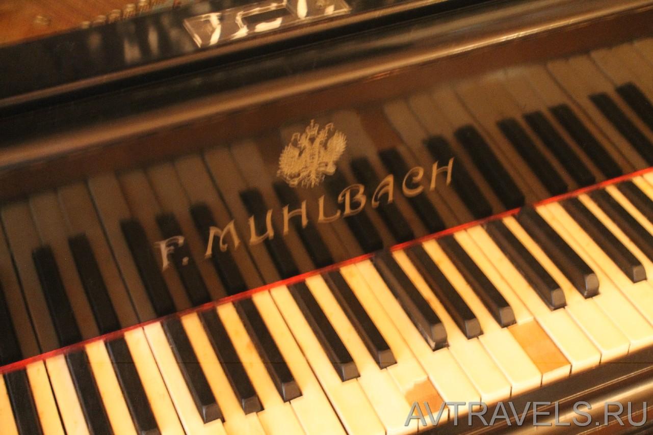 дача Сталина рояль Романовых