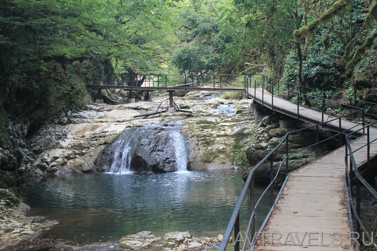 Ольгинские водопады