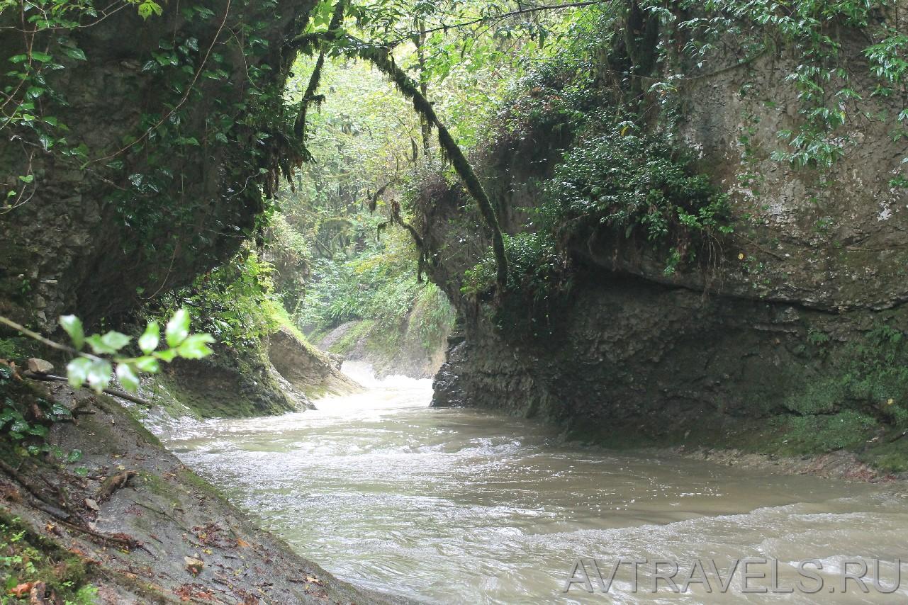 Водопады три котла