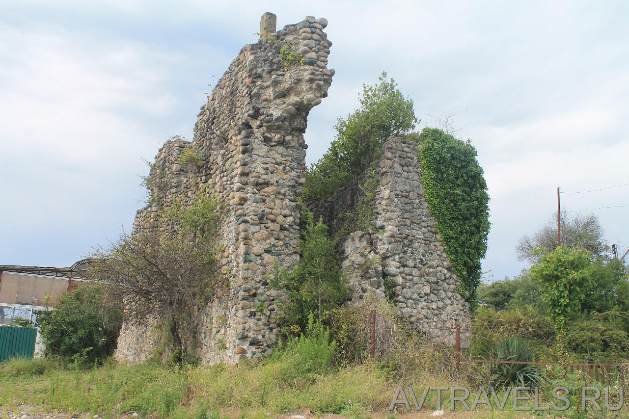 развалины сторожевой башни