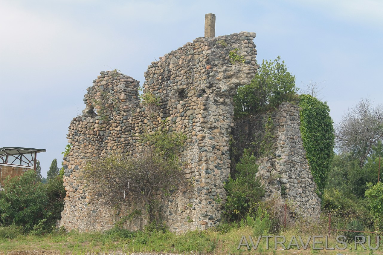 развалины сторожевой башн