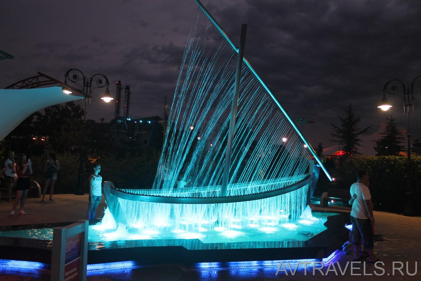 Фонтан Сочи Парк