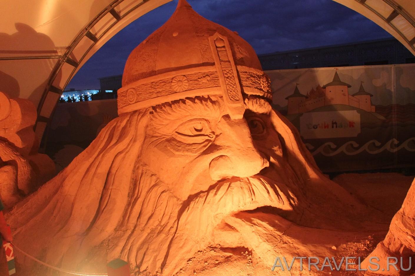 выставка песочных скульптур Сочи Парк