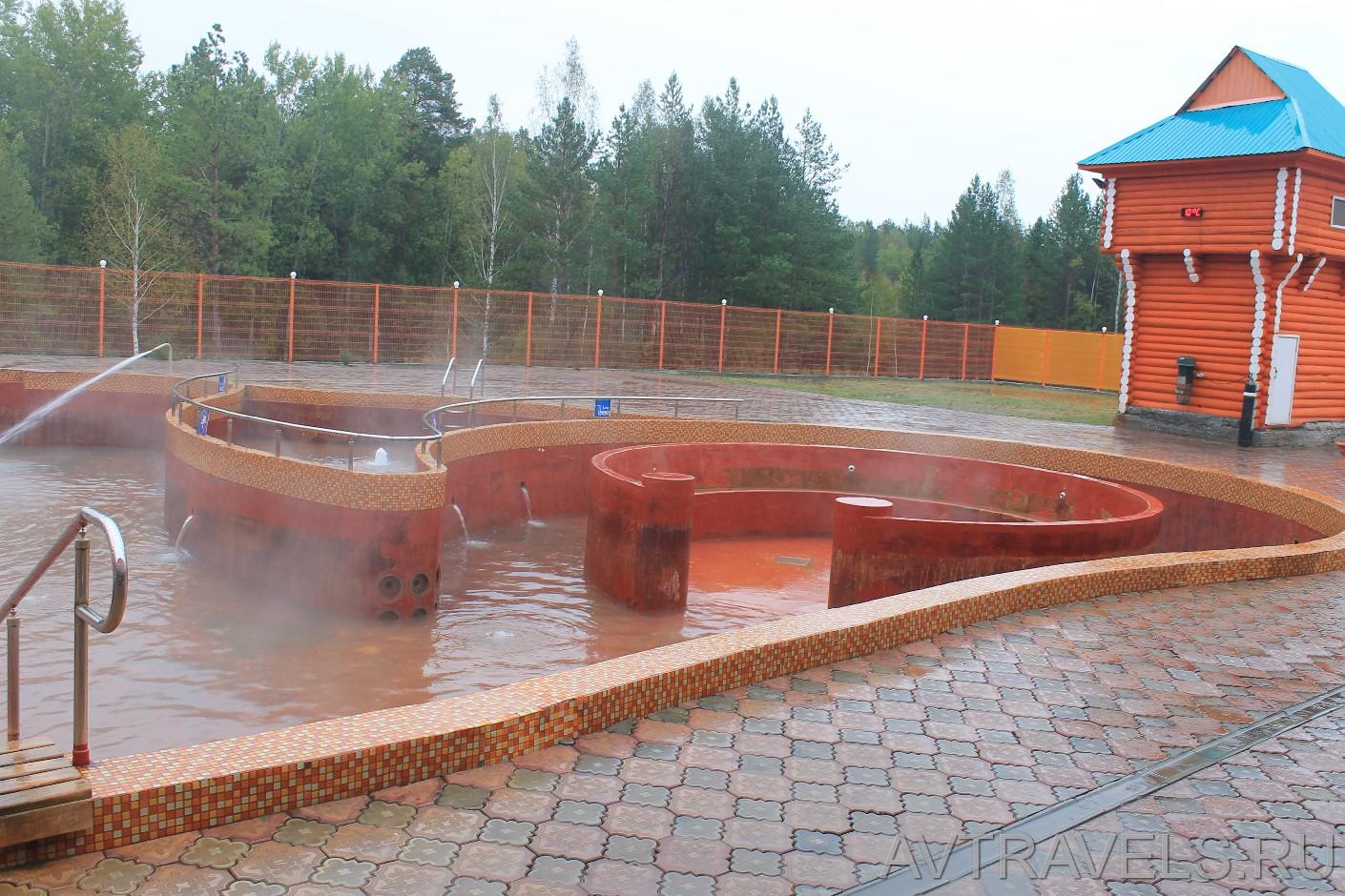 горячий источник Акварель