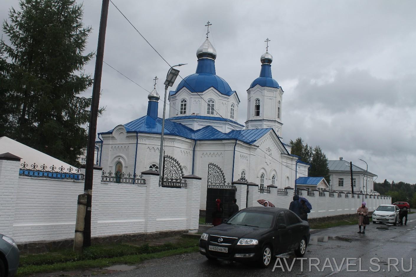 женский монастырь Верхотурье