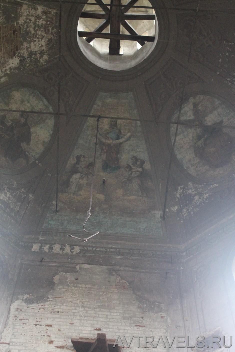 Верхотурье заброшенный храм
