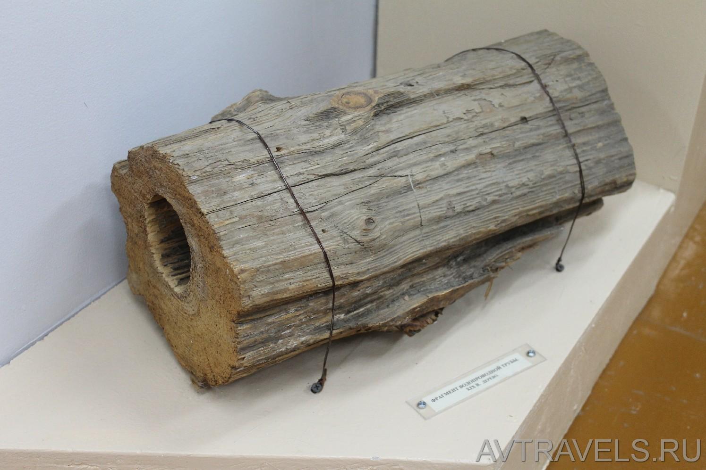 фрагмент водопроводной труб