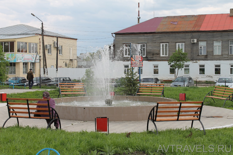 Хвалынск фонтан