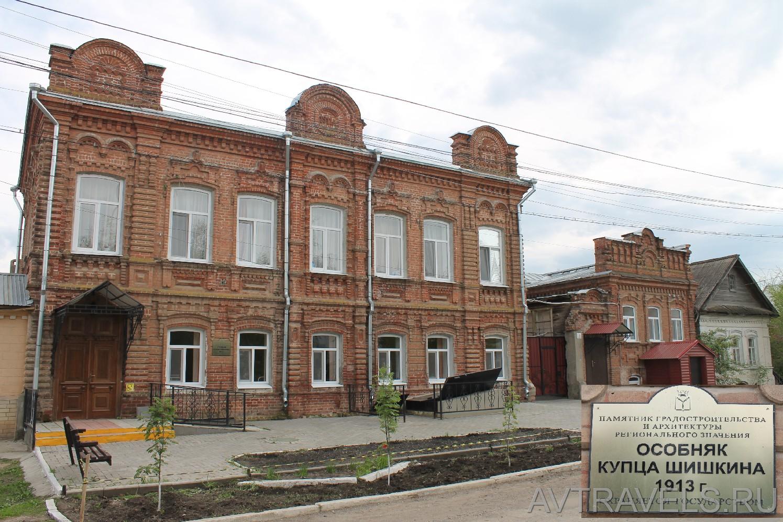 особняк купца Шишкина Хвалынск