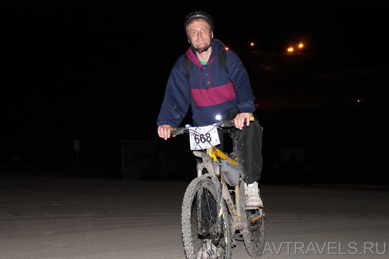 ночная велогонка Хвалынск