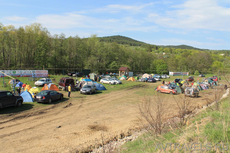 палаточный лагерь Хвалынск