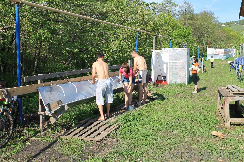 Хвалынск палаточный лагерь