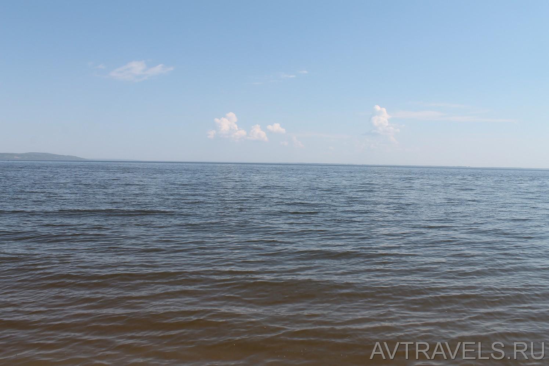 река Волга Хвалынск
