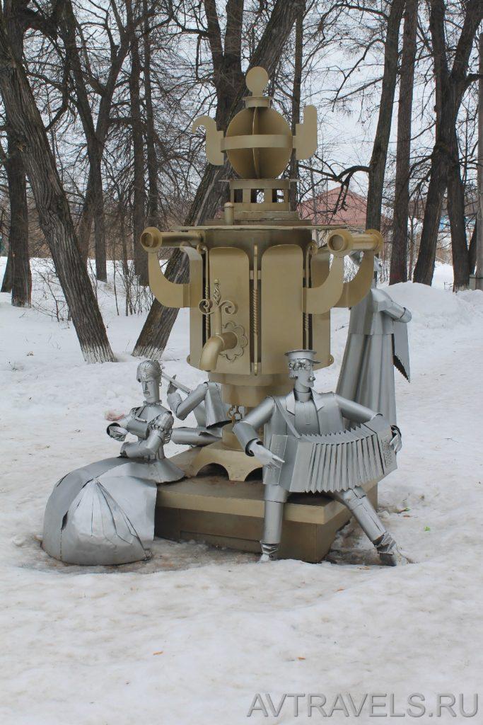 памятник самовару Суксун