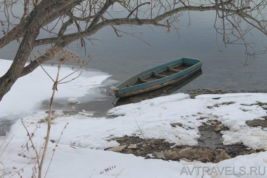 лодка на реке Сылва