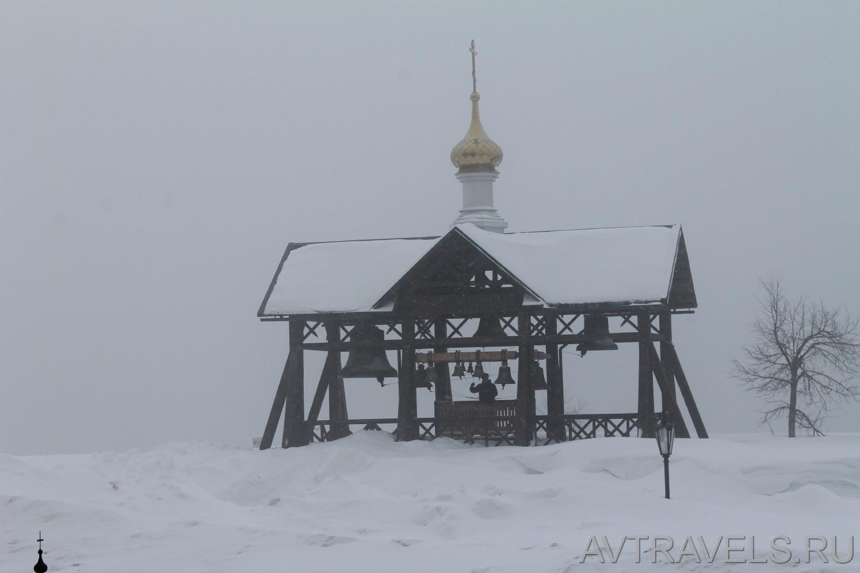 колокольня Белогорский монастырь