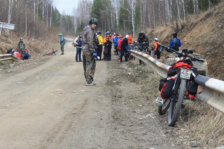 река Изранда Курганский велоклуб