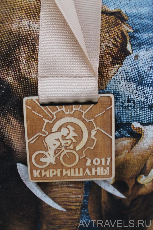 медаль Киргишаны 2017