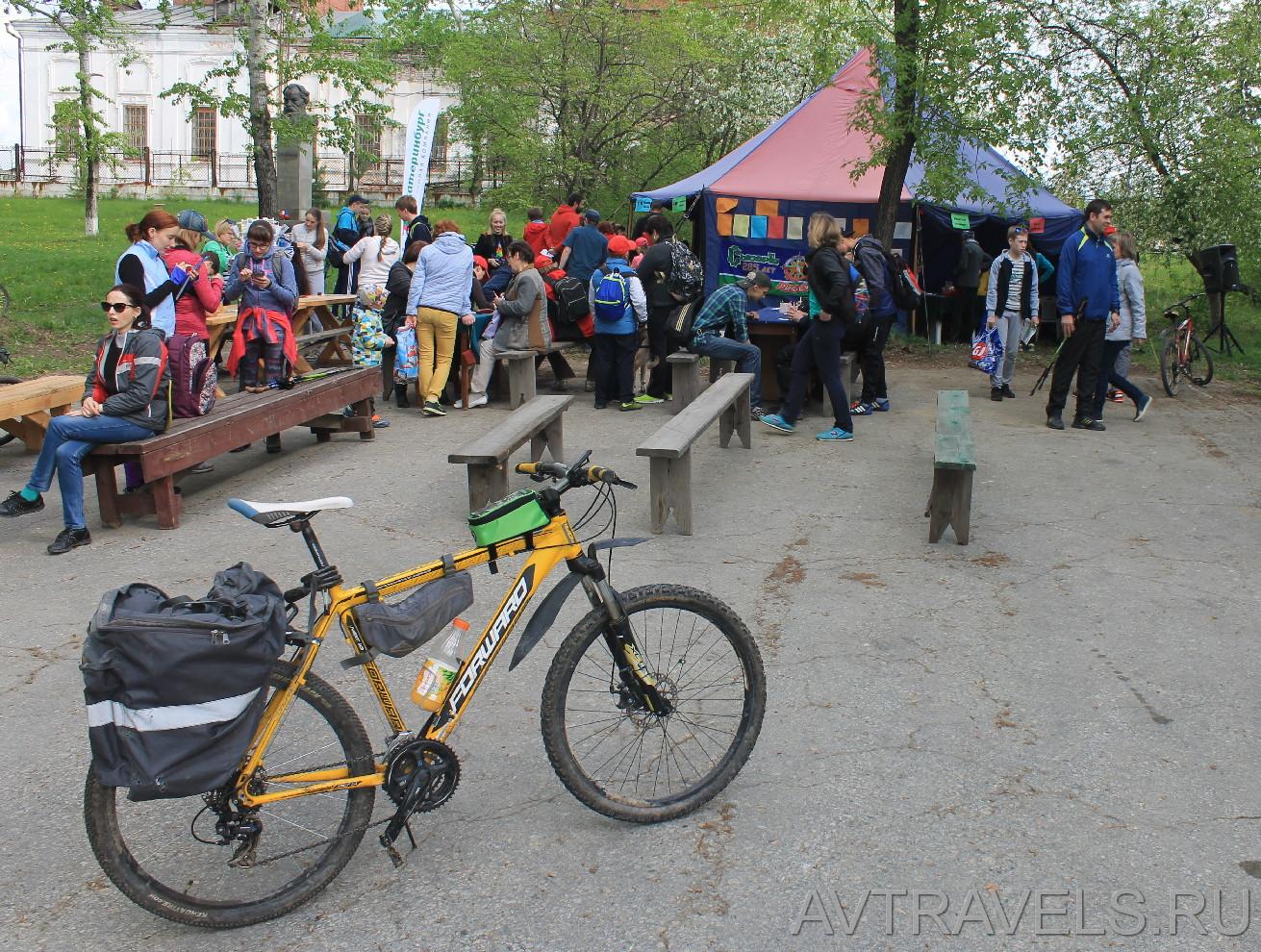 майская велопрогулка сысерть старт