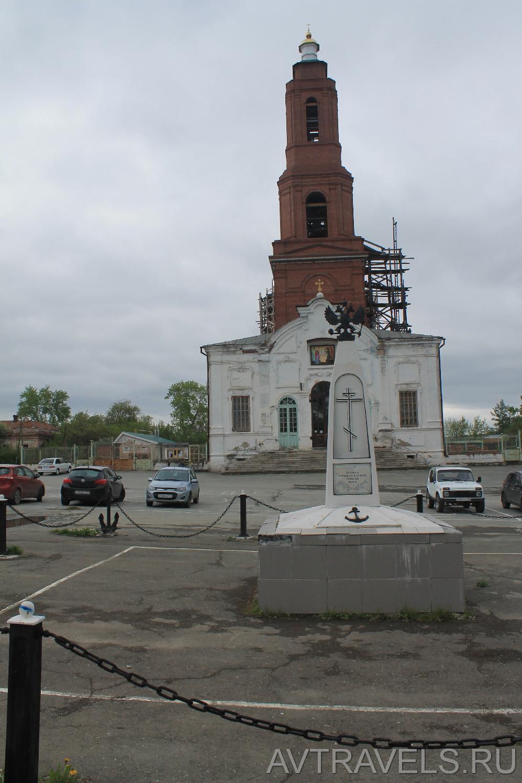 памятник погибшим морякам Сысерть